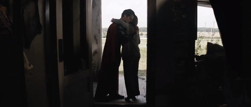 Man of Steel hug