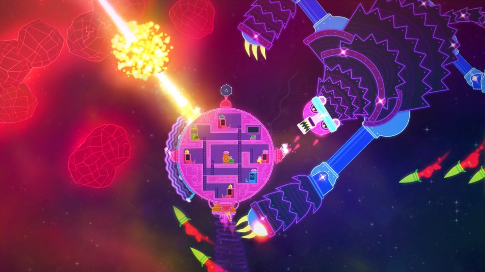 Lovers in a Dangerous Spacetime 3