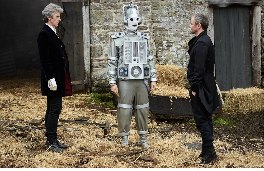 The Doctor, Bill, The Master