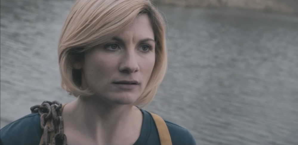 Jodie Whittaker in 'The Witchfinders'